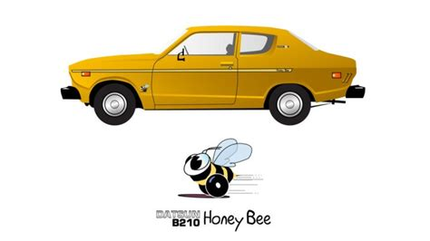 datsun b210 honey bee for sale 1978 datsun b210 2 door coupe limited edition honey bee
