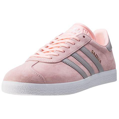 adidas gazelle pink adidas gazelle w womens trainers blush pink new shoes ebay