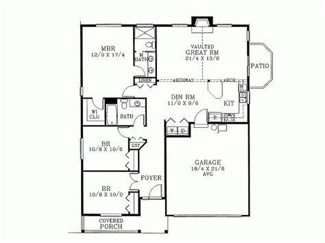 1400 sq ft house plans ranch house plan with 1400 square and 3 bedrooms from 1400 to 1500 sq ft ranch house