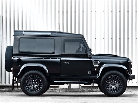 kahn range rover kahn design land rover defender harris tweed edition car