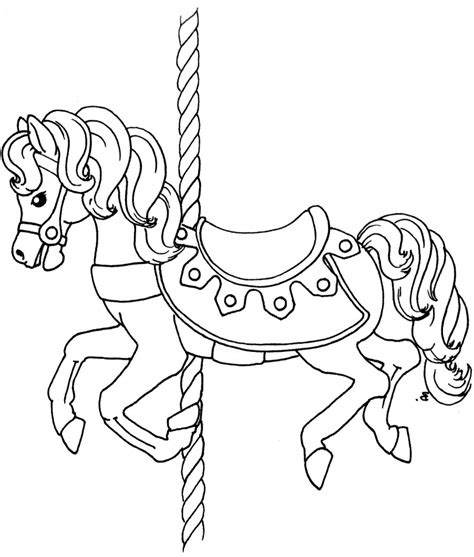 carousel animals coloring pages carousel animals coloring