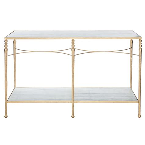gold and marble console table grauman regency gold marble console table