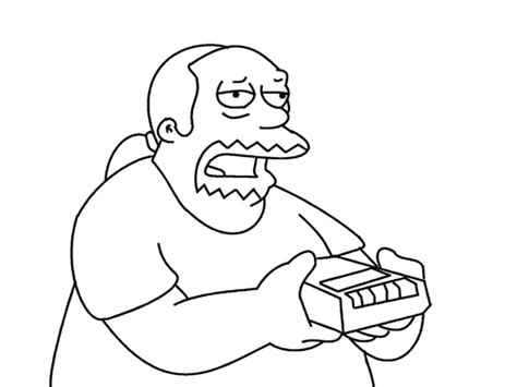 Free Printable Simpsons Coloring Pages For Kids Simpsons Coloring Pages
