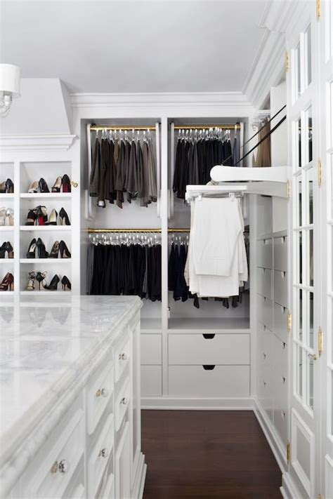 pull out rack transitional closet