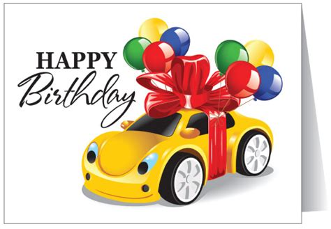 happy birthday to your car 12063 harrison greetings business greeting cards humor