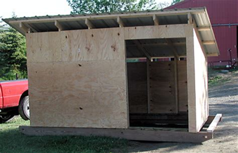 How To Move A Shed On Skids by Weekend Project Movable Goat Shed Rooster Hill Farm