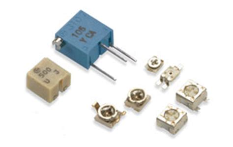 what does a trimmer resistor do trimmer potentiometer murata manufacturing co ltd