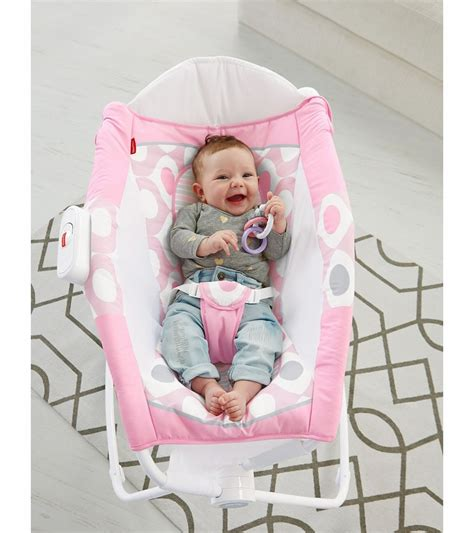 Rock N Play Sleeper Pink by Fisher Price Newborn Rock N Play Sleeper Pink Ellipse