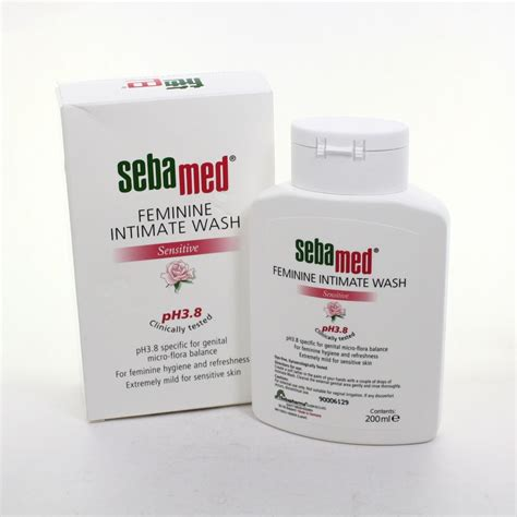 Sebamed Feminim Wash sebamed feminine intimate wash 200 ml pack of 2 ebay