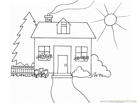 coloring pages house architecture gt houses free
