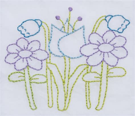 Free Handmade Embroidery Designs - embroidery flower free pattern 171 embroidery origami