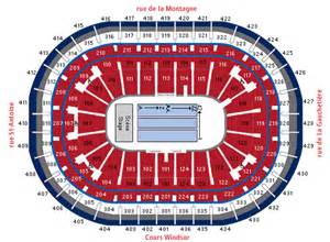 bell center floor plan bell centre montreal qc seating chart view