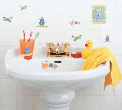 how to decorate a kids bathroom kids bathroom decorating idea