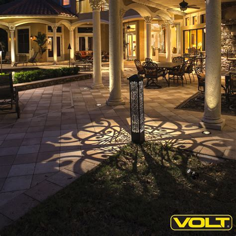 Landscape Bollard Lighting Volt 174 Lighting Announces New Line Of Outdoor Decorative Led Bollard Lights Affordable
