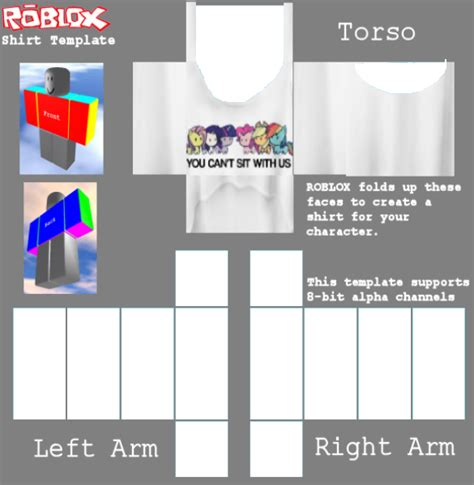 Girl Roblox Shirt Template Roblox Clothes Template