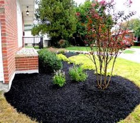 how to mulch a flower bed how to decorate garden with mulch 5 ways for unique