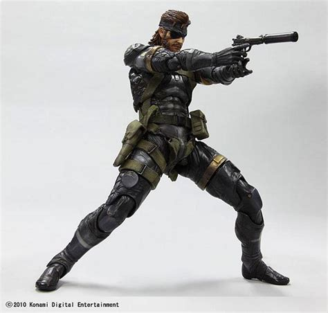 figure metal gear metal gear solid peace walker snake figure gadgetsin