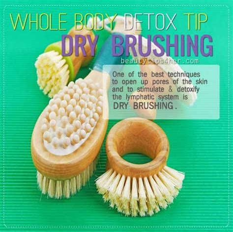 Brushing To Detox by Whole Detox Tip Brushing Trusper