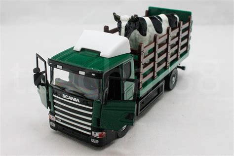 Diecast Truk Unicar Scania Transfort tb 1 43 diecast scania cow carrier end 6 21 2018 12 45 pm
