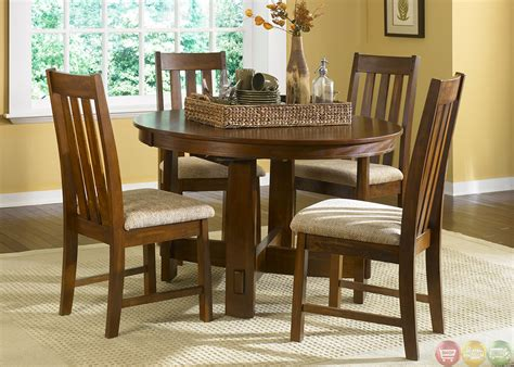 mission dining room set mission oak casual dining furniture set