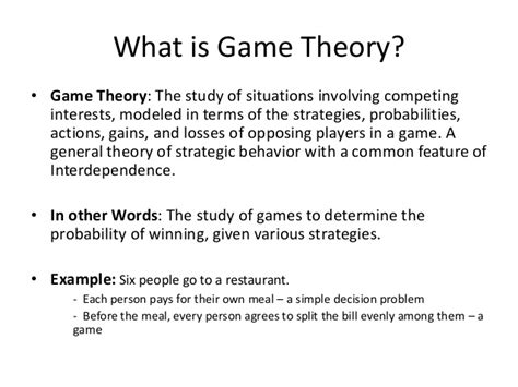 theory in economics theory economics lecture notes