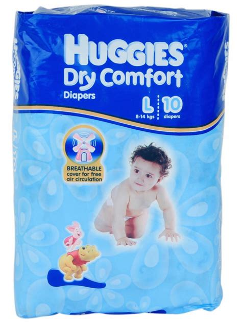 comfort for baby diapers buy huggies dry comfort l 10 8 14kg online in india