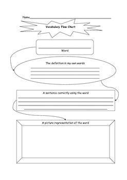 vocabulary journal template 17 best images about spelling and vocabulary on