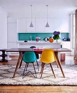 Black Table White Chairs Inspiracje W Moim Mieszkaniu Klasyczny St 243 ł I Nowoczesne