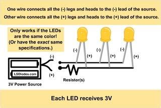 parallel led single resistor calculator how to wire leds a detailed tutorial nui community forums