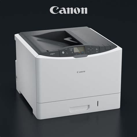 Printer Canon G6000 Printer Canon I Sensys Lbp7780cx 3d Model Max Obj Mtl Cgtrader