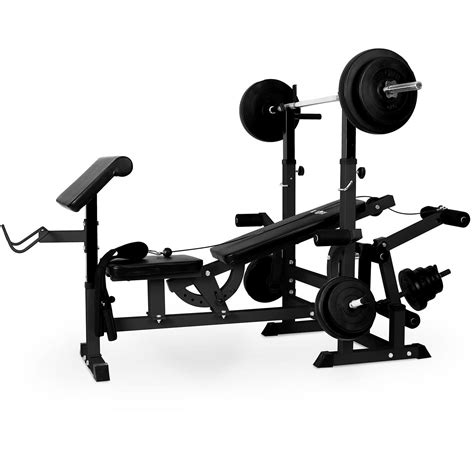 universal bench press machine multi gym bench press by klarfit universal workstation