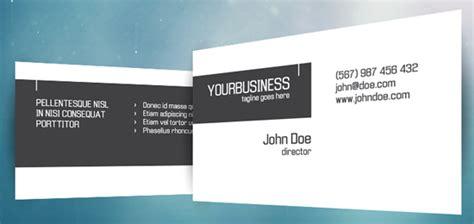 template para tarjetas bussines card 19 plantillas psd para crear tarjetas de visita