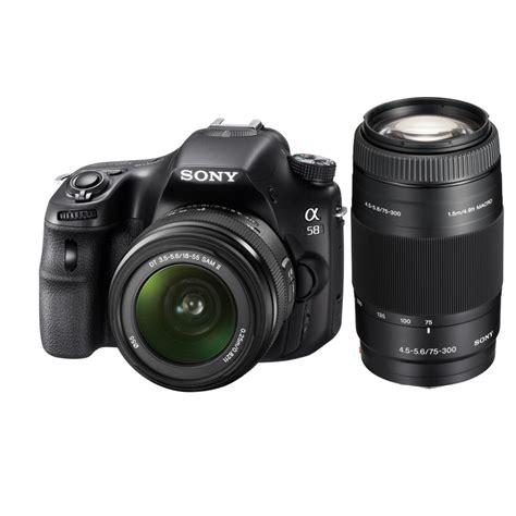 Kamera Dslr Sony Alpha Slt A58k sony alpha slt a58k 20 1mp dslr w 18 55 55 200 lens 50 gc 448