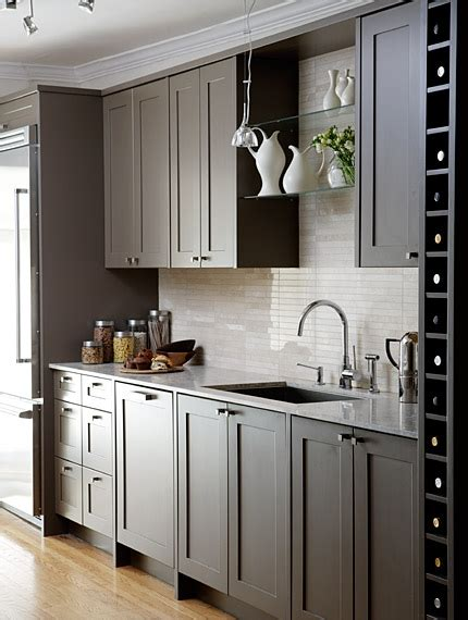 gray cabinets contemporary kitchen sarah richardson