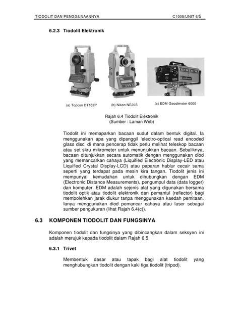Nikkon Mesin Gerinda Tangan 9500n tiodolit dan penggunaannya