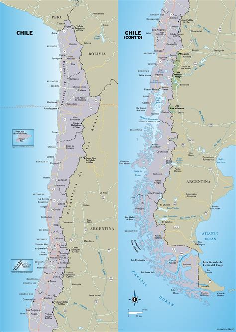 south america map chile printable travel maps of south america moon travel guides