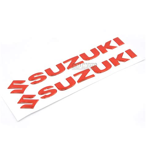 suzuki motorcycle emblem 2 pcs brand logo motorcycle decals for suzuki motorbike