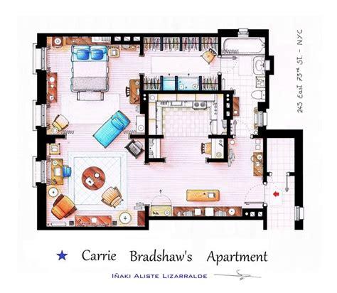 carrie bradshaw apartment floor plan 17 best images about inspiration on pinterest friends