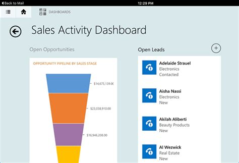 linking for dynamics crm tablet client microsoft