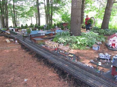 G Scale Garden Railway Layouts Muskoka Tour 2015 Layouts To Visit