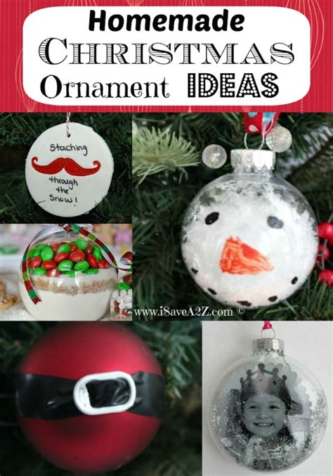 homemade christmas ornament ideas love  simple ideas