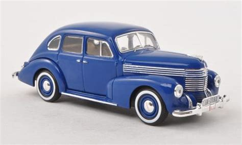 opel car 1950 opel kapitan blue ii baureihe 1950 ixo diecast model car