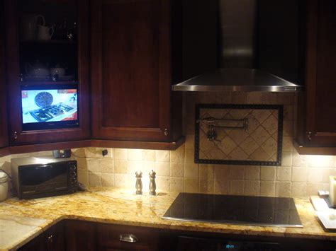 kitchen cabinet tv everything and the kitchen sink unique wiring solutions