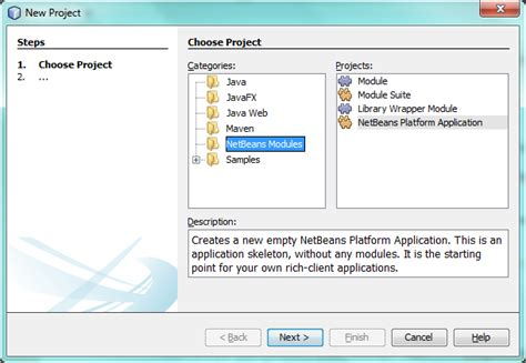 how to create swing project in netbeans netbeans platform javafx porting tutorial