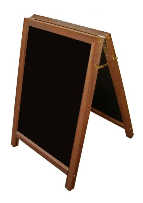Red Barn Auto A Frame Chalkboard Suitable For Writing On With Liquid Chalk
