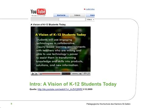 a vision of students today youtube ne x t generation learning medienkompetenz als