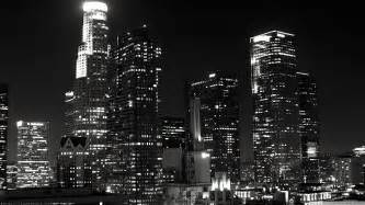 Lakers Bedroom los angeles skyline black and white wallpaper