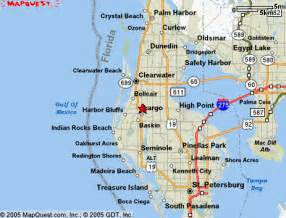 map of clearwater florida and surrounding areas clearwater florida map