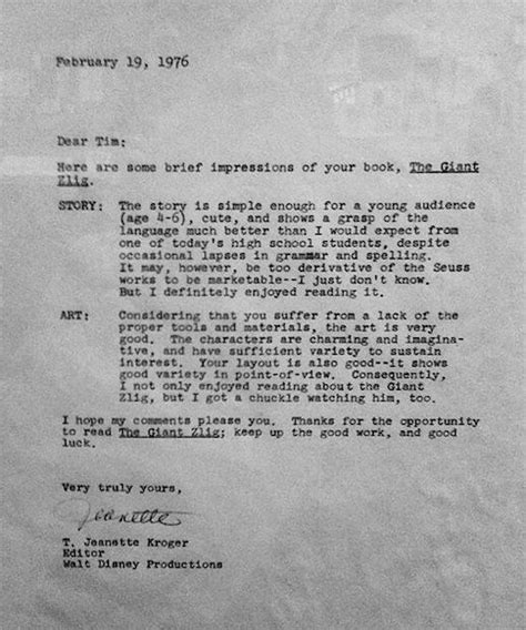 Rejection Letter U2 Rejection Letters Sent To Andy Warhol Madonna Other Successful Designtaxi