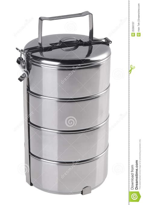 metal food container stainless steel food container royalty free stock photography image 25360137